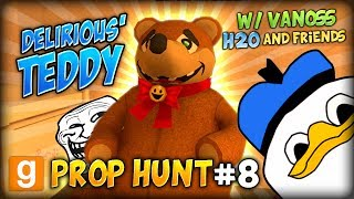 GMOD Funny Prop Hunt #8 (w/ VanossGaming, H2O And Friends