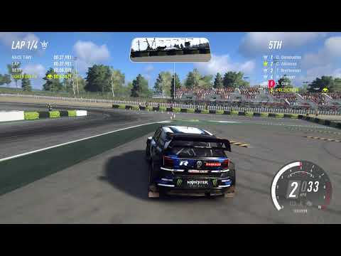 Dirt Rally 2 Crazy funny driving Gameplay 1080p 60fps