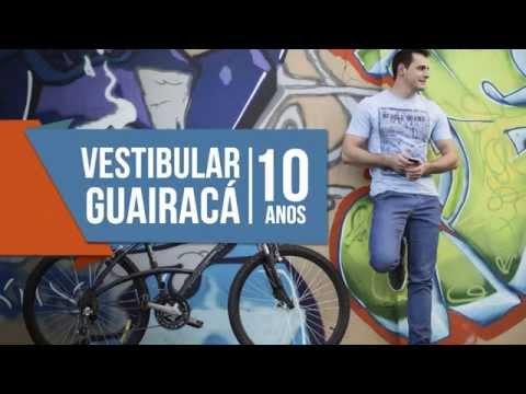 Vestibular 10 anos Faculdade Guairacá