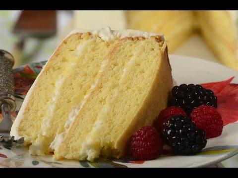Simple Vanilla Cake Recipe Demonstration - Joyofbaking.com
