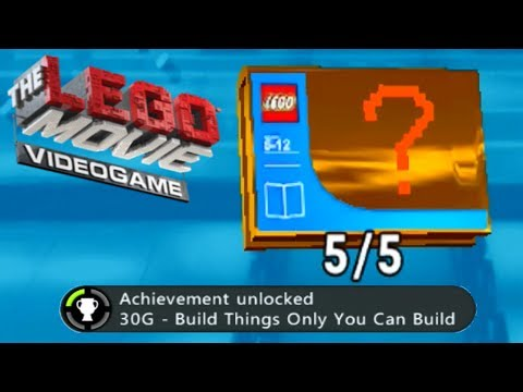 The Lego Movie Videogame - Build Things Only You Can Build Achievement/Trophy Guide