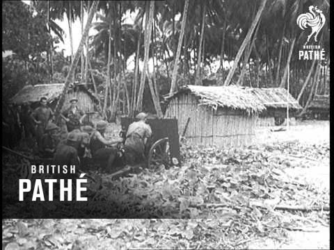 U.S. Activities On Many Fronts - Buna - New Guinea (1943)