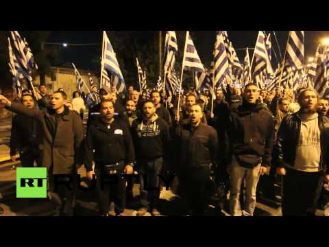 Greece: Golden Dawn rally in immigrant-rich Athens district