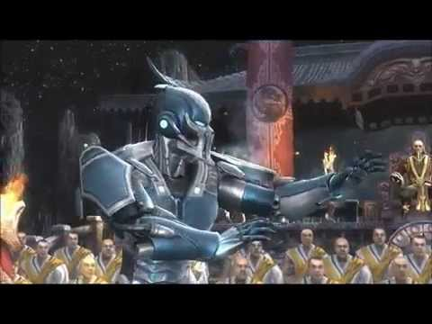 Mortal Kombat 9 Part 1: Cyber Sub-Zero Makes Ice Simply!