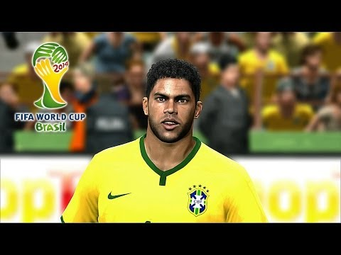 PES 2014 - Brazil 2014 Simulation - Brazil vs. Mexico