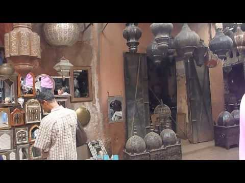 MOROCCO - Marrakech Souq Shopping | Morocco Travel - Vacation, Tourism, Holidays  [HD]
