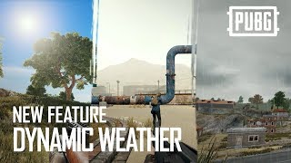 PUBG - New Feature: Dynamic Weather