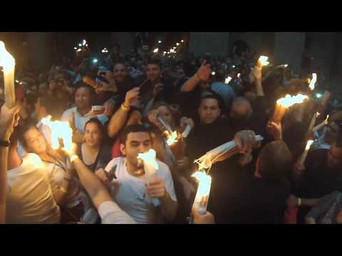 Holy Saturday: Holy Fire Ceremony 2014 Jerusalem