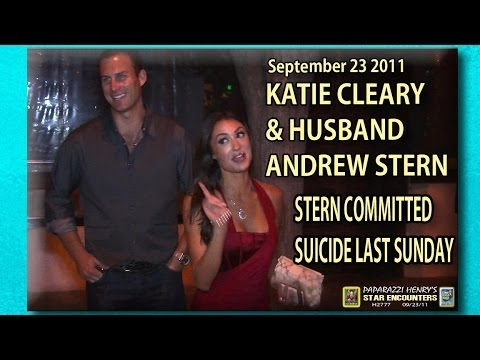 Katie Cleary &  Andrew Stern party in 2011