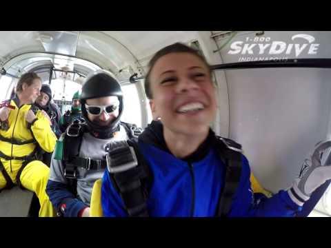 Chloe Schwartz's Tandem skydive!