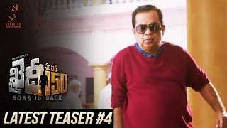 Khaidi No 150 Latest Teaser #4