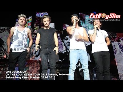 1D ONE DIRECTION - BEST SONG EVER (Climax) live in Jakarta, Indonesia 2015
