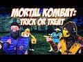 Scorpion Sub Zero REACT MORTAL KOMBAT EP 02 TRICK OR TREAT MKX PARODY