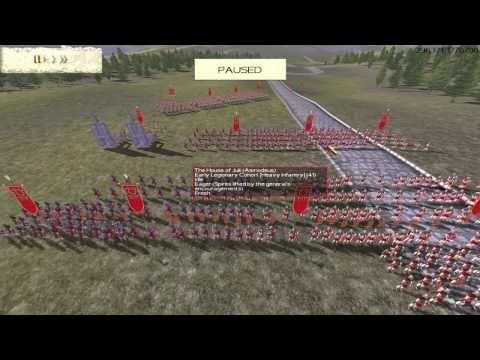Rome: Total War - Fela (Grecia) Vs Asmo (Roma) / Comentarios