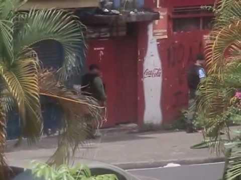 Pruebas de la violencia policial en Colón