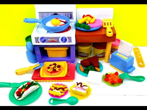 Play Doh Meal Makin Kitchen Playset By Hasbro Playdough