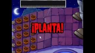 Plantas Vs Zombies Nivel Final