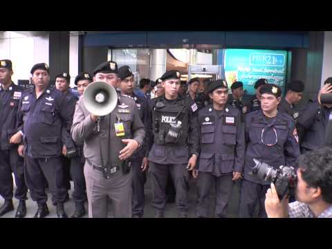 Bangkok (Thailand) 01-06-2014 Full Rush of protest day