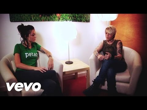 OTEP Talks Animal Rights With PETA2 by Otep