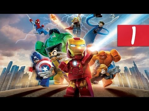 Lego Marvel Super Heroes - Walkthrough - Part 1 - Insulting Hulk