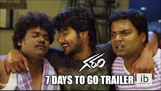 Garam 7 Days to go trailer -Aadi
