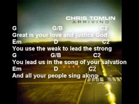 Your Grace Is Enough chords by Chris Tomlin  Worship Chords