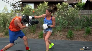 Female Boxer Knocks Out Man (Team USA: Olympic Boxer
