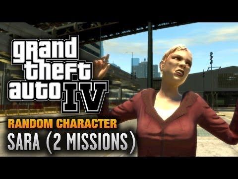GTA 4 - Random Character #6 - Sara [2 Missions] (1080p)