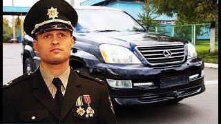 У главы полиции Украины угнали Lexus. Дорожный Контроль Видео.