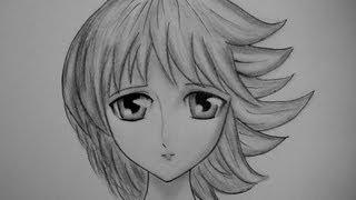 Dibujar rostro Manga de mujer