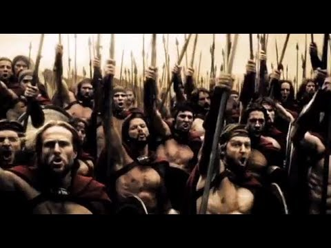 300 (2/5) Best Movie Quote - Spartans! What is Your Profession? (2006)