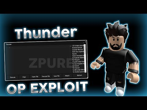 NEW ROBLOX EXPLOIT: Thunder (Working) UNRESTRICTED LEVEL 7 SCRIPT EXECUTOR