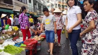 Chợ Bình Tiên, Minh Phụng Quận 6,Saigon. 2016.Dec.21