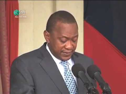 President Kenyatta Issues 2-Week Ultimatum On Illegal Arms