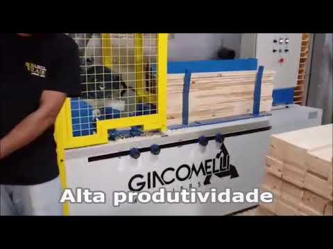 Fresadora de Tábuas – Modelo PLB (vídeo 1)
