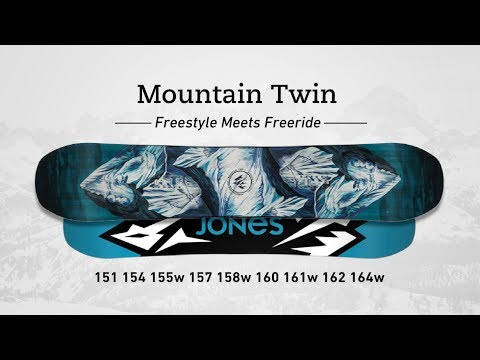Jones Mountain Twin Snowboard 154