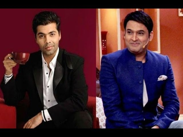CAT FIGHT Karan Johar Copies Kapil Sharma of Comedy Nights with Kapil