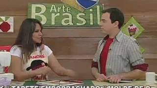 ARTE BRASIL GEISA LENTINI BLOCO DE TIRAS EM PATCHWORK