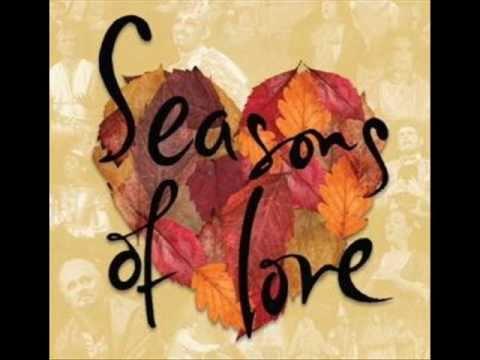 RENT - Seasons Of Love (w/ lyrics) - YouTube