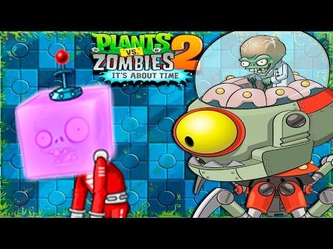 Plants Vs Zombies 2 New Update Far Future Zomboss Day 35