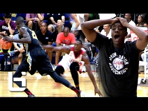 Thon Maker BREAKS Defender's Ankles & Hits The Jumper at Fab 48!!