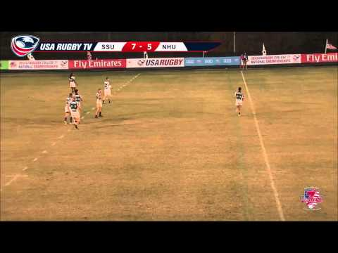 2013 USA Rugby College 7s National Championship: Sonoma State vs. New Hampshire