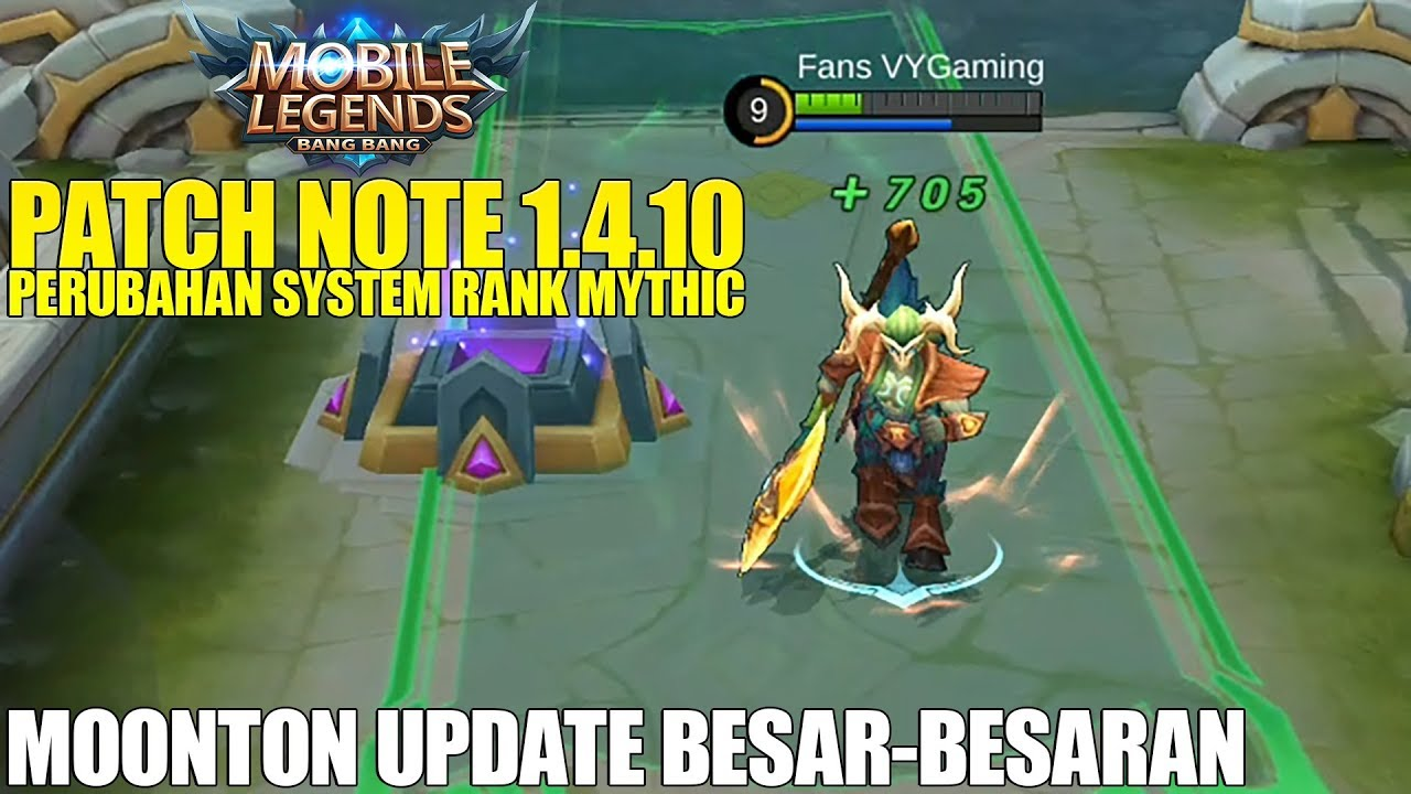 Mobile Legends New Patch Note