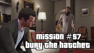 GTA 5 Mission #57 Bury The Hatchet