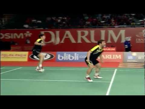 R16 - MD - Jung J.S./Lee Y.D. vs G.M.Fernaldi/A.P.R.Putra - 2012 Djarum Indonesia Open