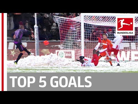 Vidal, Kampl, Caiuby and More  - Top 5 Goals on Matchday 15