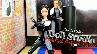 How To Make A Doll Martial Arts And Ballet Studio Plus