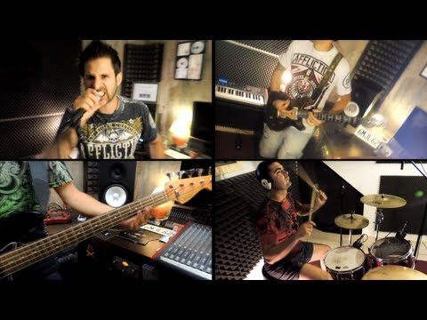 Avenged Sevenfold - Hail to the King (band cover + tabs)