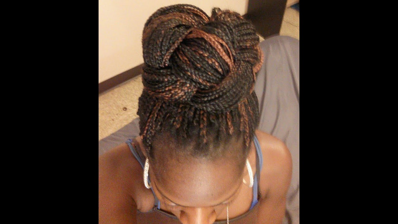long curly sew in hairstyles : Long Box Braids Hairstyles Part 2 - YouTube