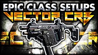 CoD Ghosts: VECTOR CRB EPIC CLASS SETUP! (Call Of Duty
